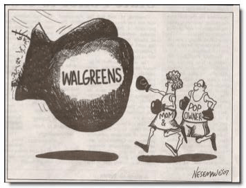 Walgreens Boxing Glove Lease Illustration